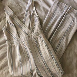 Striped Boho Jumpsuit